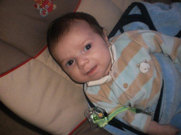 Mon fils Quentin né le 05/12/2011