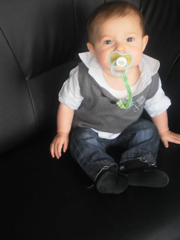 Mon fils à 7 mois