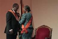 sont exellence monsieur le presidant de la republique de cote d'ivoire monsieur alassane dramane ouattara