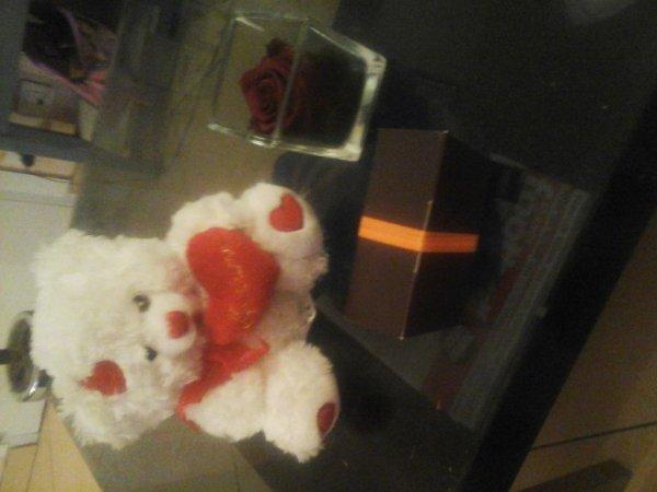Mes cadeaux de saint valentin
