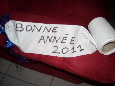 BONNE ET  HEUREUSE ANNEE 2011 A  TOUS