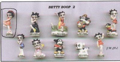 Recherche collection Betty Boop 2 Série terminée