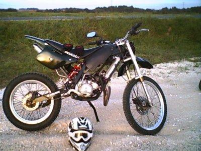 ma moto en sortie