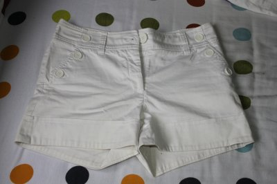 Short Blanc H&M taille 36