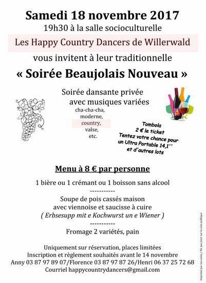 Soirée Beaujolais.