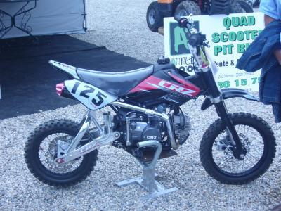 la moto cross