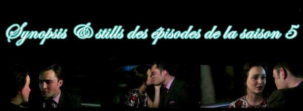 Guide des épisodes de la saison 5 de Gossip Girl