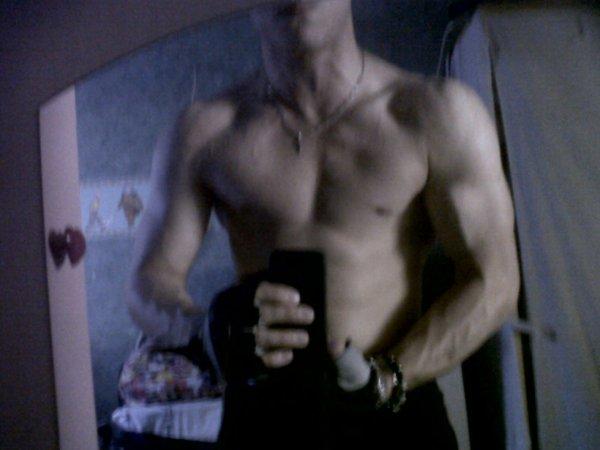 Moi pendant la seance de muscule vous en pensé koi  :)