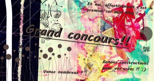 Grand Concour !
