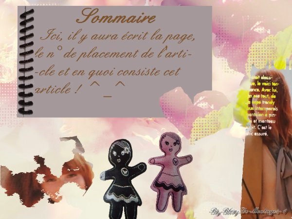 Sommaire ^_^