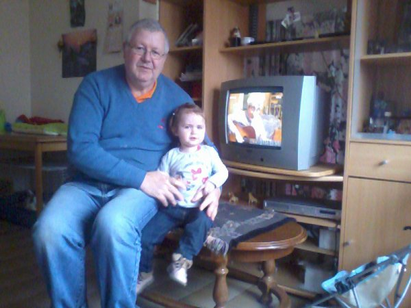 LENA avec son papy