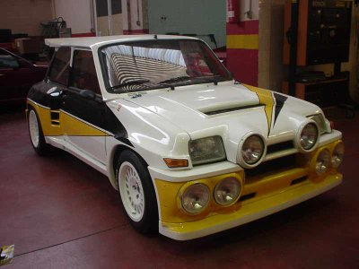 renault 5 turbo 2 avec le kit maxi tour de corse blog de renaultsportdu02. Black Bedroom Furniture Sets. Home Design Ideas