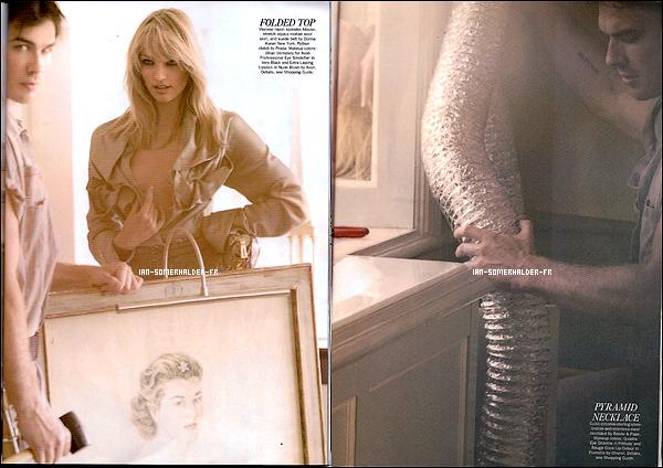. Shoot d'Ian pour Allure avec Candice Swanepoel, pris par le photographe Mario Testino. J'adhère COMPLETEMENT ♥!.