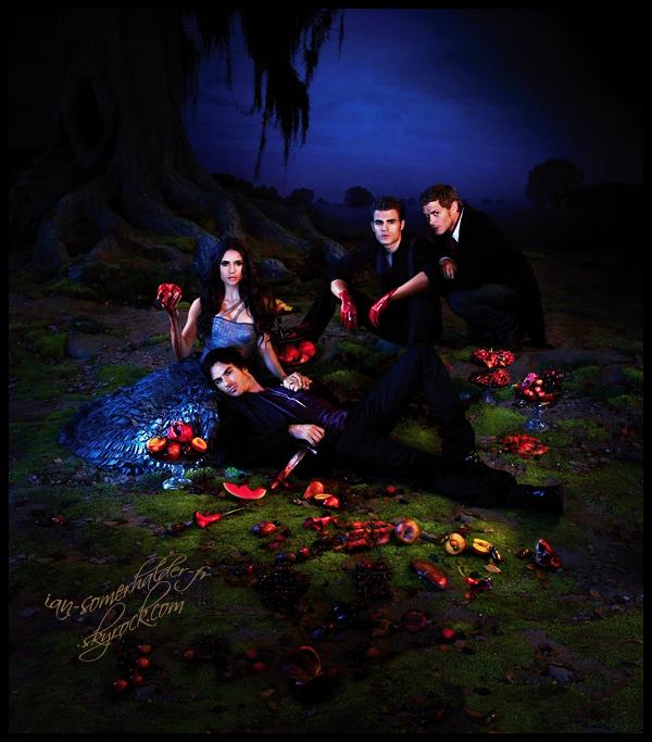 """. Le webclip de l'épisode 3x01 """"The Birthday"""" de Vampire Diaries désormais disponible. Enjoy (l) ."""