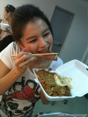 Vivian et l'alimentation