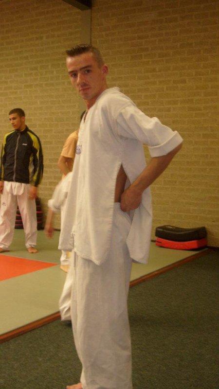 moi au taekwondo