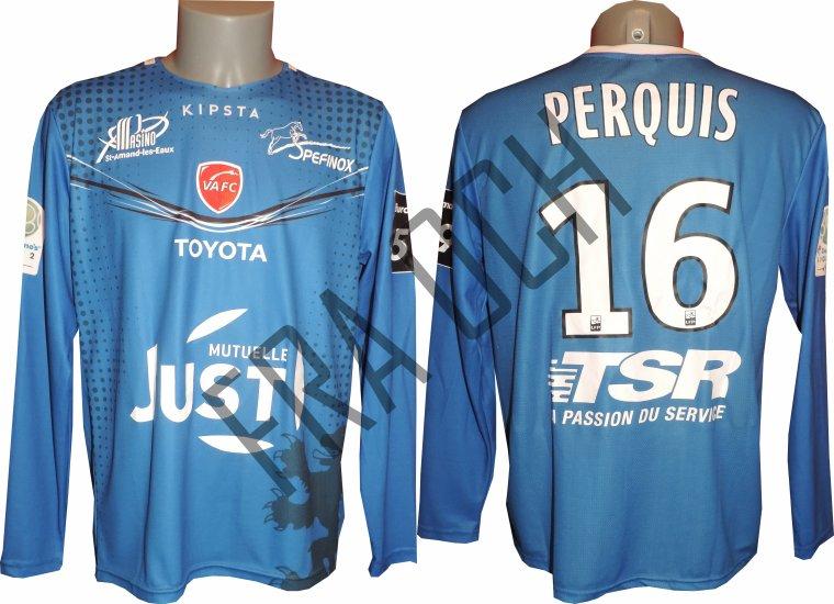 Damien Perquis / Ligue 2 / 17-18