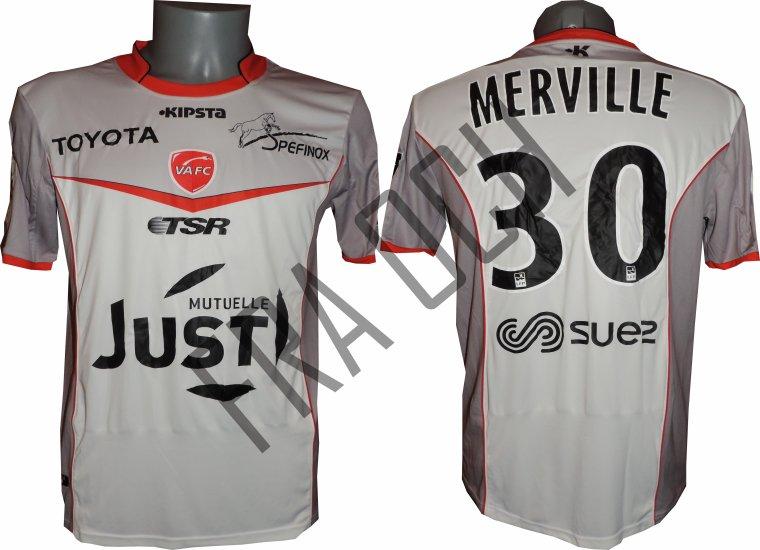 Cyrille Merville / Ligue 2 / 16-17