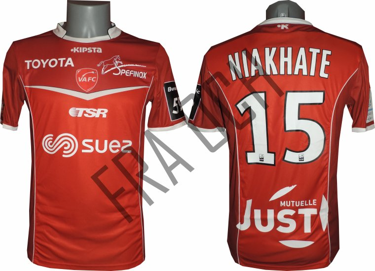 Moussa Niakhaté / Ligue 2 / 16-17