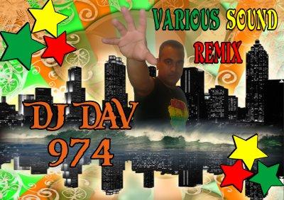 VARIOUS SOUND REMIX / DJ DAV'974  ft  MADA VOICE aka JIZZY - GYAL TO DI TOP (2011)