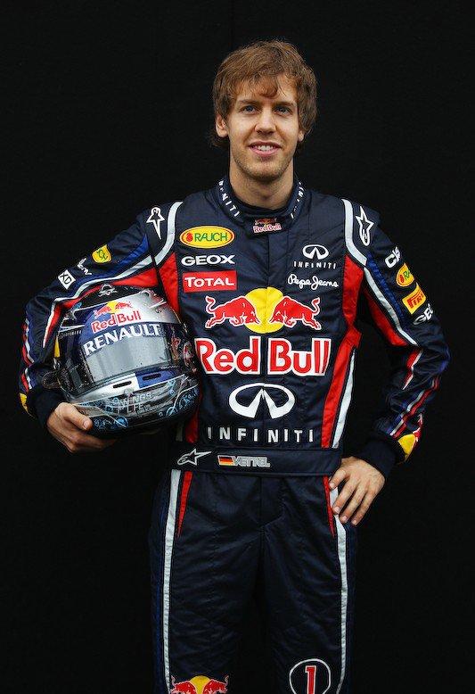 Sébastian Vettel n°1