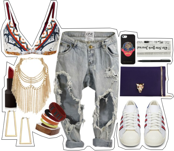 (my outfit n°1 sur P O L Y V O R E et tumblr.)