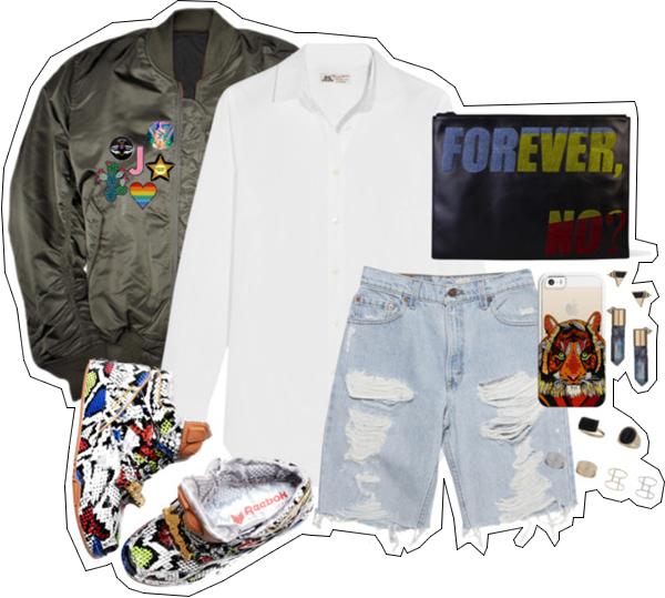 (my outfit n°3 sur P O L Y V O R E et tumblr.)