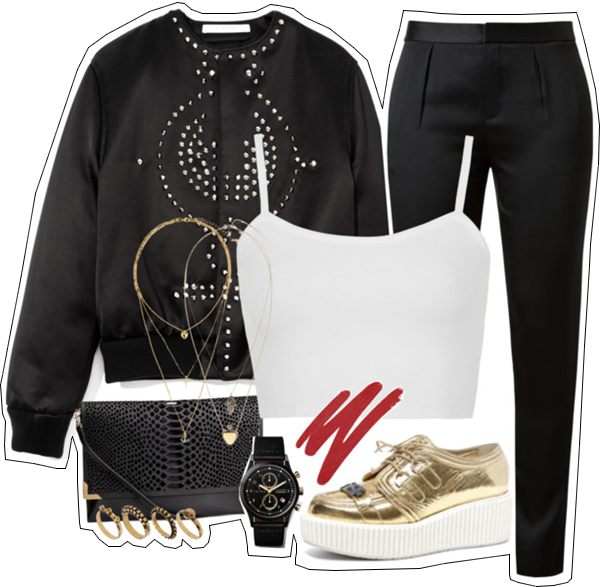(my outfit n°5 sur P O L Y V O R E et tumblr.)