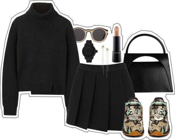 (my outfit n°11 sur P O L Y V O R E et tumblr.)