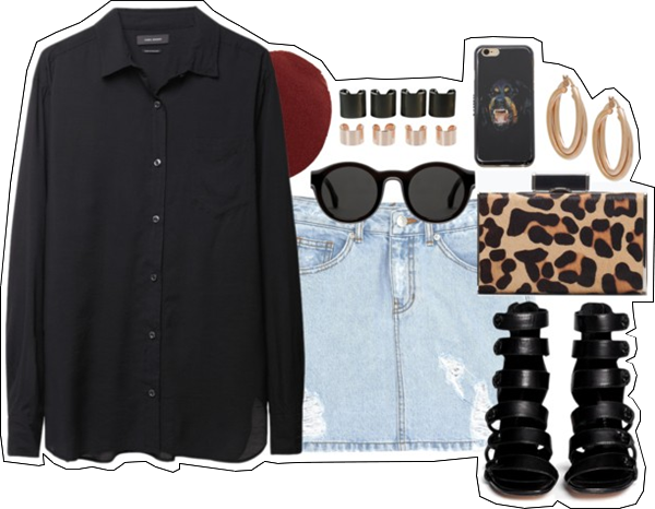(my outfit n°17 sur P O L Y V O R E et tumblr.)