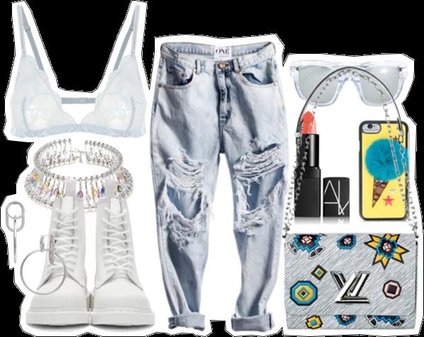 (my outfit n°23 sur P O L Y V O R E et tumblr.)