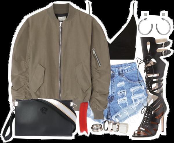 (my outfit n°27 sur P O L Y V O R E et tumblr.)