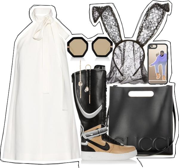(my outfit n°31 sur P O L Y V O R E et tumblr.)