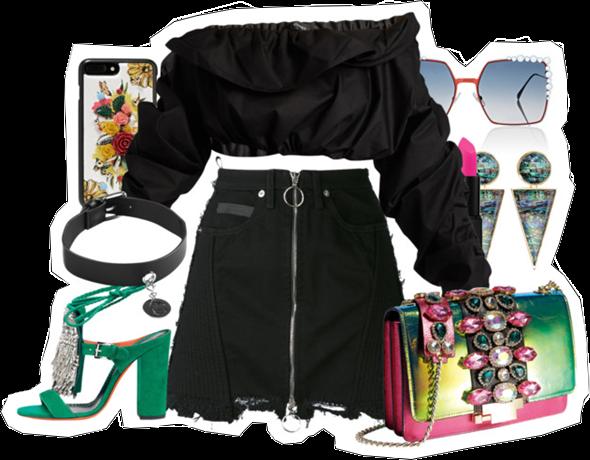 (my outfit n°36 sur P O L Y V O R E et tumblr.)