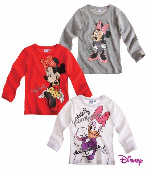 T-shirt manche longue Minnie