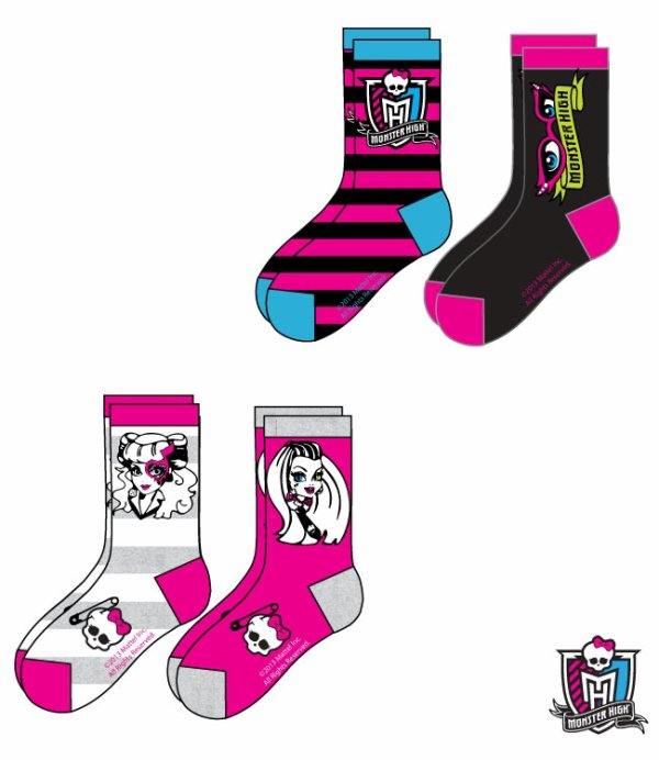 Chaussettes Monster High