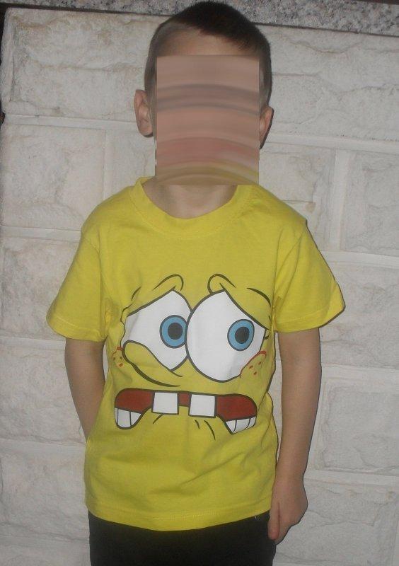 T-shirt Bob l'éponge 1