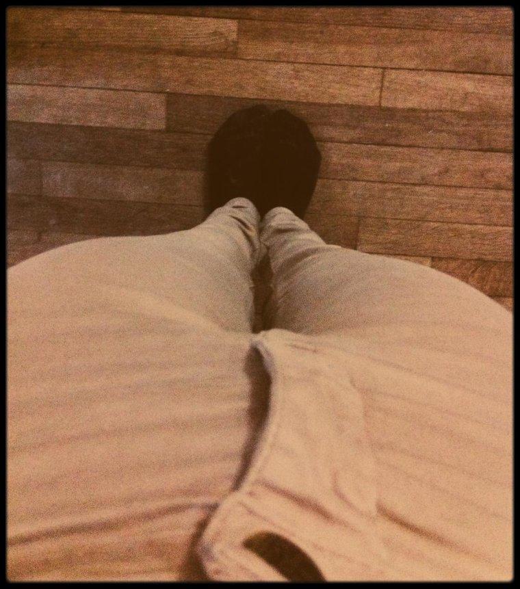 Slim beige Kookaï.