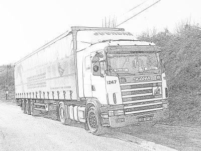 Dessin scania blog de scaniakingtruck - Dessin de camion a imprimer ...