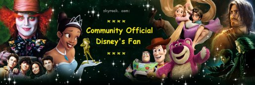 """rejoignez le groupe: """"Official Fan Community Disney's Prestige"""""""
