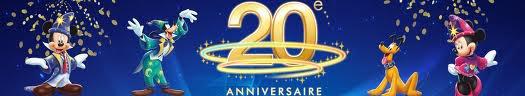 Les 20 ans de disneyland paris en musique