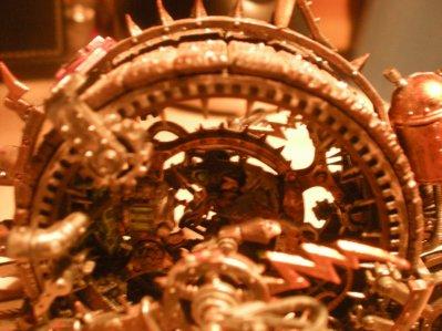 roue infernal détail