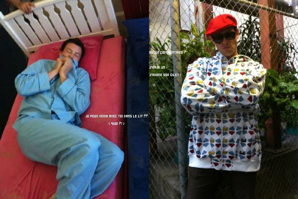 Quelques sélections des photos de Twitter avec Cory dessous .