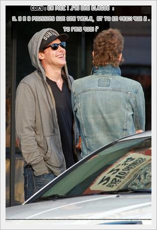Cory à Venice Beach  le 19 novembre :