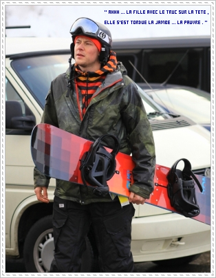 Cory était aller faire du snowboard à Vancouver le 22 décembre :
