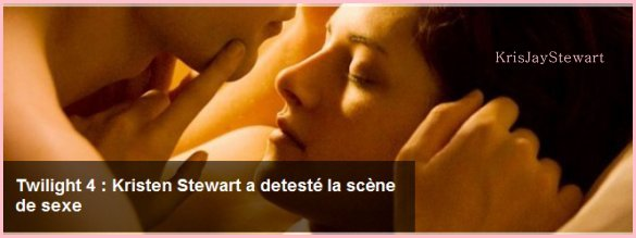 ~ Kristen fais la couverture du magazine Glamour [ UK ]   du décembre 2O11. ♥  + Voici les confessions de Kristen, concernant Breaking dawn, Partit 1.