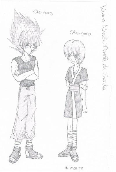 Parent de Sasuka (version Naruto)
