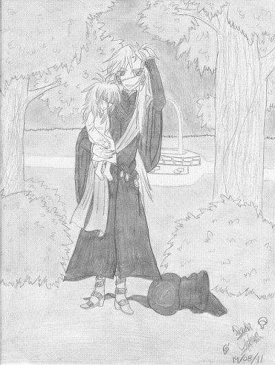 Undertaker & Sasuka