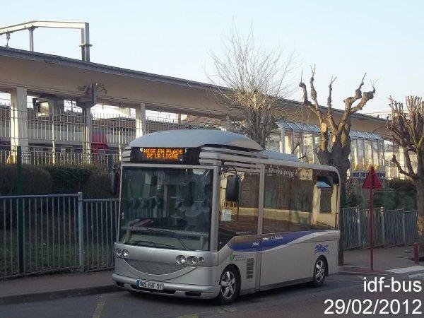 Réseau Le Paladin groupe Transdev,bus Gruau Microbus à Robinson RER