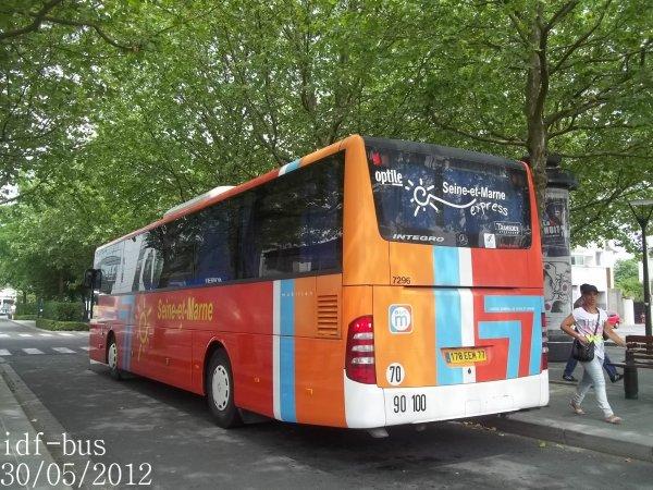 Réseau Seine et Marne Express,ligne 19,Autocar Mercedes-Benz Integro